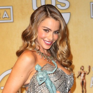 Sofia Vergara in The 20th Annual Screen Actors Guild Awards - Press Room