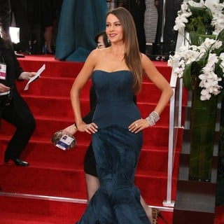 Sofia Vergara in The 69th Annual Golden Globe Awards - Arrivals