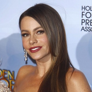 Sofia Vergara in The 69th Annual Golden Globe Awards - Press Room
