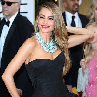 Sofia Vergara in 71st Annual Golden Globe Awards - Arrivals