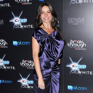 Sofia Vergara - Breakthrough of The Year Awards Presented by Crest 3D White - Arrivals