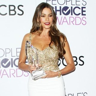 Sofia Vergara-People's Choice Awards 2017 - Press Room