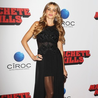 Sofia Vergara in Premiere of Open Road Films' Machete Kills