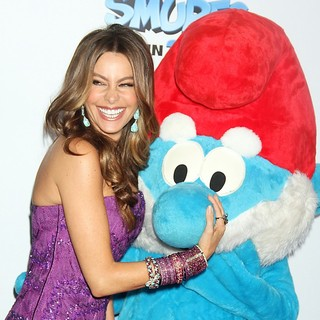 Sofia Vergara in The Smurfs World Premiere - Arrivals