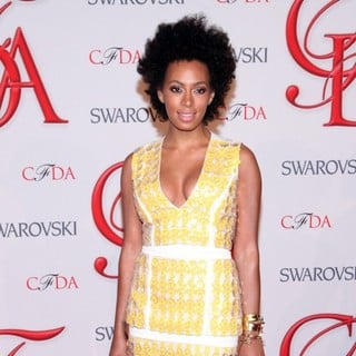 Solange Knowles in 2012 CFDA Fashion Awards