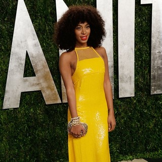 Solange Knowles in 2013 Vanity Fair Oscar Party - Arrivals