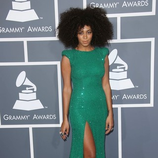 Solange Knowles in 55th Annual GRAMMY Awards - Arrivals