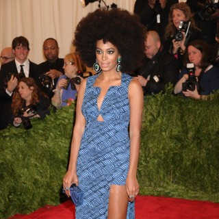 Solange Knowles in PUNK: Chaos to Couture Costume Institute Gala