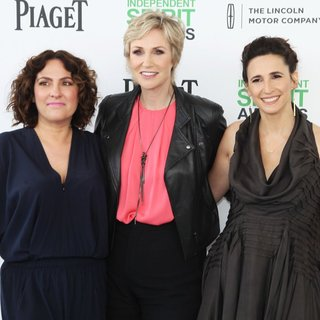 Jill Soloway, Jane Lynch, Michaela Watkins in The 2014 Film Independent Spirit Awards - Arrivals