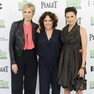 Jane Lynch, Jill Soloway, Michaela Watkins in The 2014 Film Independent Spirit Awards - Arrivals