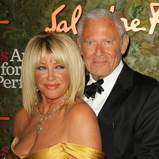 Suzanne Somers, Alan Hamel in Opening Night Gala of The Wallis Annenberg Center for The Performing Arts