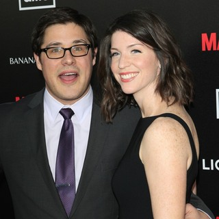 Rich Sommer, Virginia Donohoe in AMC's Special Screening of Mad Men Season 5 - Arrivals