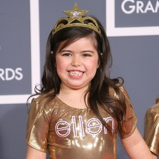 Sophia Grace Brownlee in 54th Annual GRAMMY Awards - Arrivals