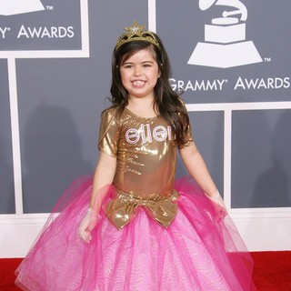 Sophia Grace in 54th Annual GRAMMY Awards - Arrivals