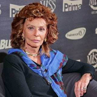 Sophia Loren - Sophia Loren Attends A Press Conference Prior to Her Attandance at Miss Czech Republic 2014