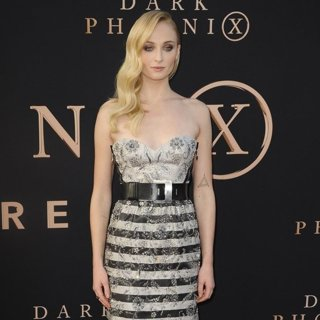 Sophie Turner in Dark Phoenix Premiere