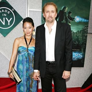 Alice Kim, Nicolas Cage in World Premiere of 'The Sorcerer's Apprentice'