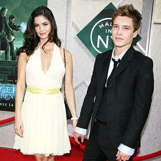 Shermine Shahrivar, Xavier Samuel in World Premiere of 'The Sorcerer's Apprentice'