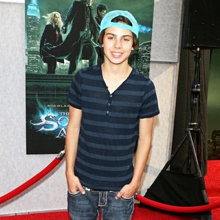 Jake T. Austin in World Premiere of 'The Sorcerer's Apprentice'