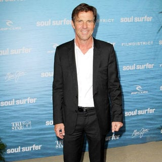 Dennis Quaid in The Los Angeles Premiere of 'Soul Surfer'