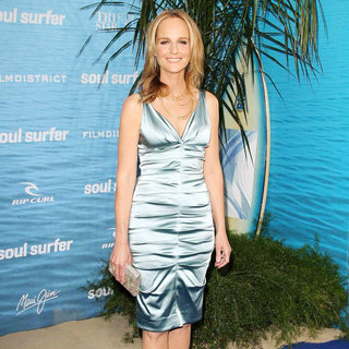 Helen Hunt in The Los Angeles Premiere of 'Soul Surfer'