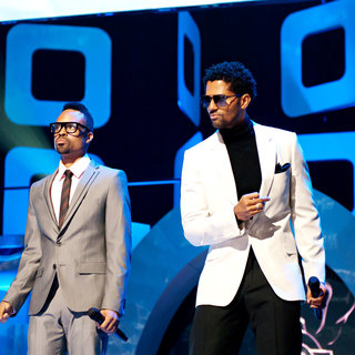 Bilal, Eric Benet in Soul Train Awards - Show