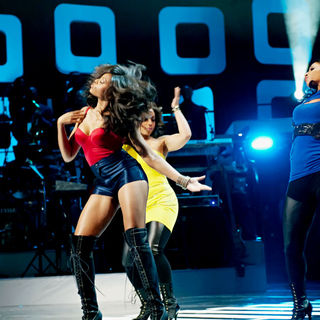 Taraji P. Henson, Terrence Howard in Soul Train Awards - Show