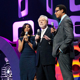 Taraji P. Henson, Wolf Blitzer, Terrence Howard in Soul Train Awards - Show