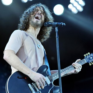 Chris Cornell, Soundgarden in The 2012 Big Day Out Festival
