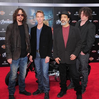 Soundgarden in World Premiere of The Avengers - Arrivals