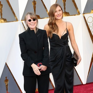 Sissy Spacek, Schuyler Fisk in 88th Annual Academy Awards - Red Carpet Arrivals