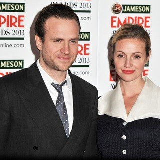 Rafe Spall, Elize du Toit in Jameson Empire Film Awards 2013 - Arrivals