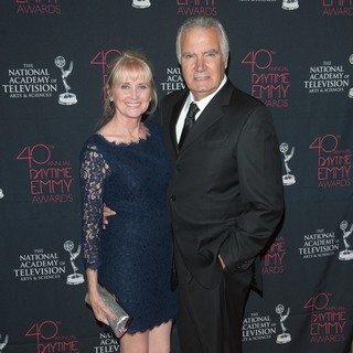 Laurette Spang, John McCook in 40th Annual Daytime Entertainment Creative Arts Emmy Awards