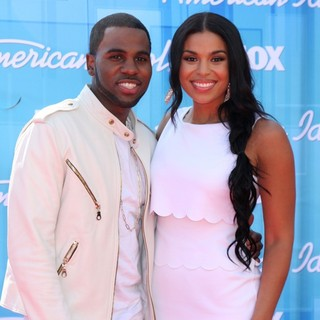 Jason Derulo, Jordin Sparks in American Idol Season 11 Grand Finale Show - Arrivals