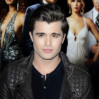 Spencer Boldman in Film Premiere American Hustle