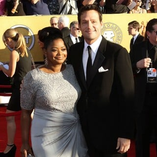 Octavia Spencer, Josh Hopkins in The 18th Annual Screen Actors Guild Awards - Arrivals