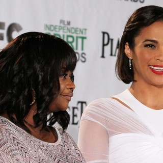 Octavia Spencer, Paula Patton in The 2014 Spirit Awards Nominations Press Conference