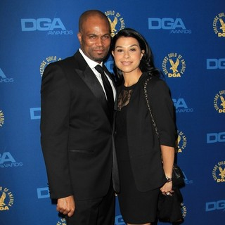 Chris Spencer, Vanessa Rodriguez in 65th Annual Directors Guild of America Awards - Arrivals