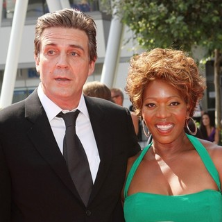 Roderick Spencer, Alfre Woodard in 2011 Primetime Creative Arts Emmy Awards - Arrivals