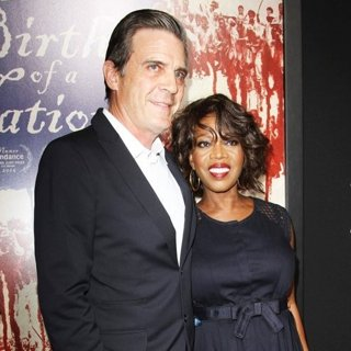 Roderick Spencer, Alfre Woodard-The Birth of a Nation Los Angeles Premiere
