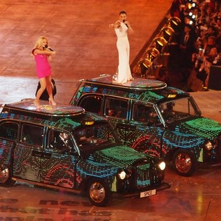 Emma Bunton, Melanie C, Spice Girls in London 2012 Olympic Games - Closing Ceremony