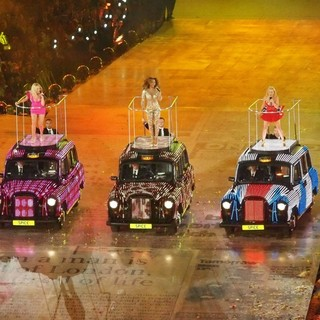 Spice Girls in London 2012 Olympic Games - Closing Ceremony