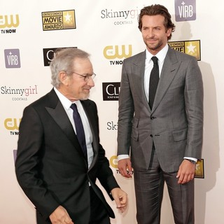 Steven Spielberg, Bradley Cooper in 18th Annual Critics' Choice Movie Awards