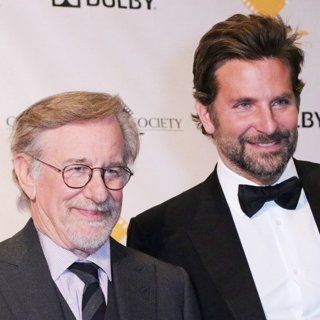Steven Spielberg, Bradley Cooper in 55th Annual Cinema Audio Society Awards