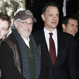 Steven Spielberg, Tom Hanks in Los Angeles Premiere of HBO's New Mini Series The Pacific