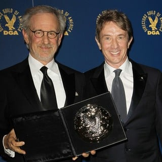 Steven Spielberg, Martin Short in 65th Annual Directors Guild of America Awards - Press Room