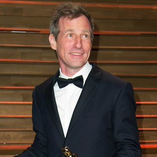 Spike Jonze in 2014 Vanity Fair Oscar Party