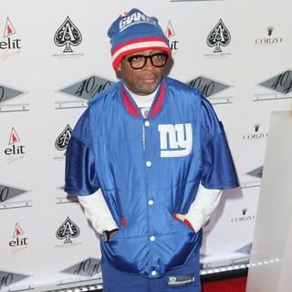 Spike Lee in Grand Re-Opening of The 40-40 Club - Arrivals