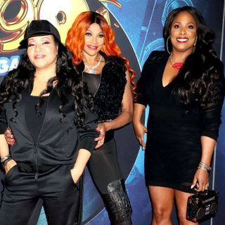 Salt-N-Pepa, Spinderella in I Love The 90s Grand Opening - Arrivals