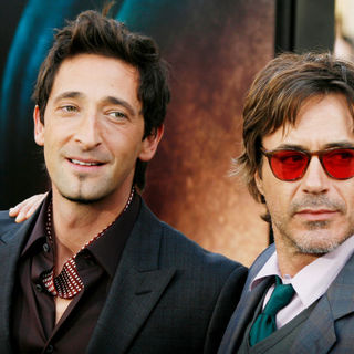 "Adrien Brody, Robert Downey Jr. in Los Angeles Premiere of Warner Bros. Pictures ""Splice"""